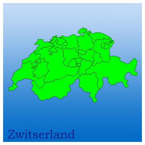 kaart, zwitserland, provincies , natuurfoto's