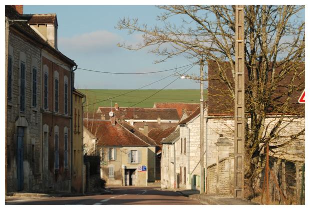 foto´s Yrouerre, regio Bourgondië, Frankrijk