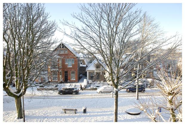foto's, sneeuw, Schagen, Noord Holland, Nederland