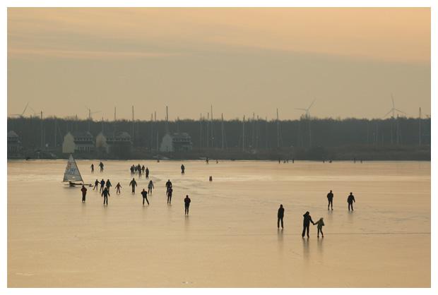 foto's, Den Oever, Noord-Holland, Nederland