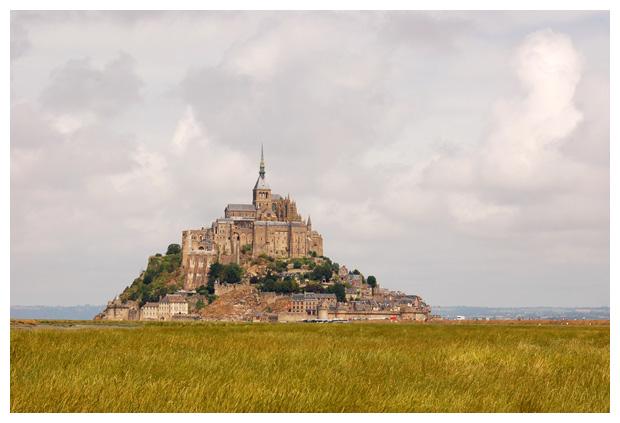 foto's, abdij Le Mont-Saint-Michel, Noordwest-Frankrijk