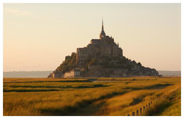 Normandiele, mont-saint-michel normandië in frankrijk / du mont saint michel normandie france,  avranches franse departement manche (regio laag-normandië),