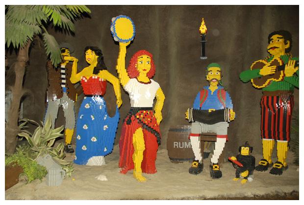 foto's, Legoland in Billund, Denemarken