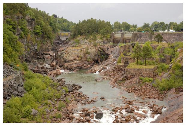 foto's, Oskarsbron, Trollhättan, Västra götalands län, Västergötland, Zweden