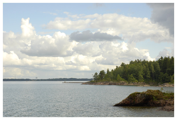 foto's, Vänermeer, Västra götalands län, Västergötland, Zweden