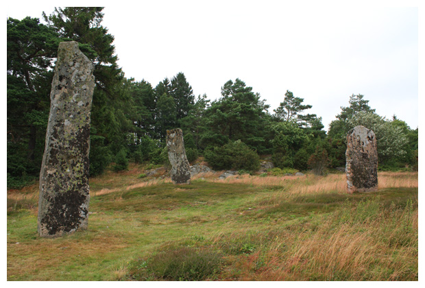 foto's, Greby gravfält, Västra götalands län, Västergötland, Zweden