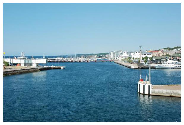 foto's, Helsingborg haven, Skåne län, Zuid-Zweden, Zweden