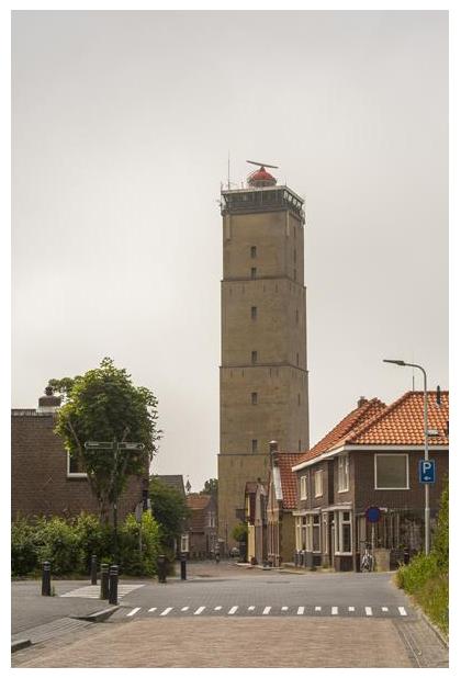 foto's, Vuurtoren Terschelling, Nederlandse Waddeneiland, Friesland, Nederland