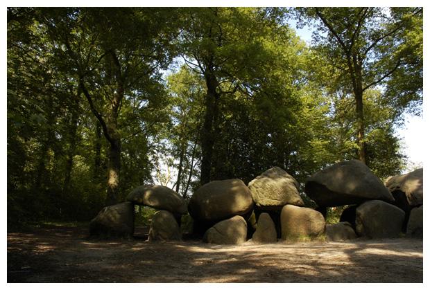 foto's, Hunnenbedden, Havelte, Drenthe, Nederland