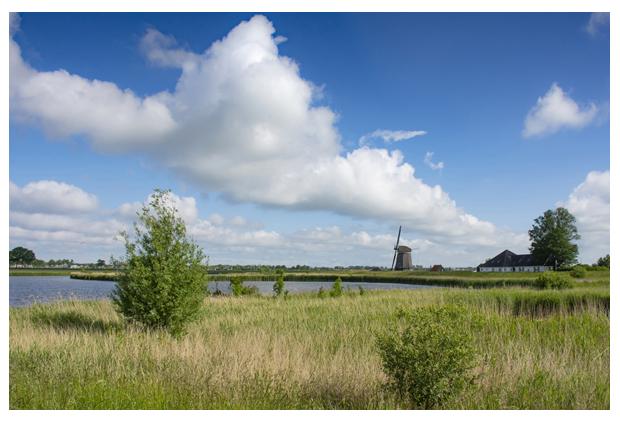 foto´s, Waterberging Hensbroek, Noord-Holland, landschapsfoto's