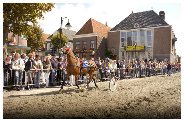 kortebaan, paarden race, schagen